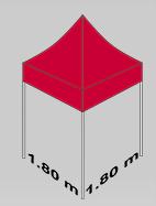 1800x1800mm tent