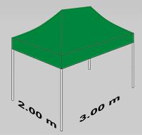 2000x3000mm tent