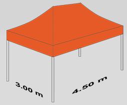 3000x4500 mm tent