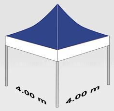 4000x4000mm tent