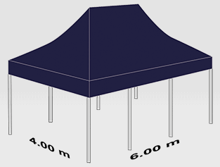 4000x6000mm tent