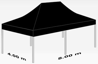 4000x8000mm tent