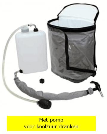 5 liter rugzak fun met pomp voor koolzuur