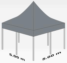 5000x5000mm tent