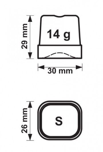 74530002 ice cube dimensions
