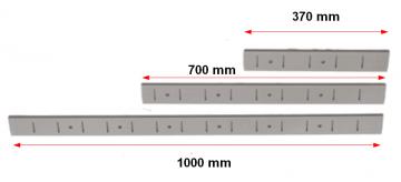 Muurmontage strip drie lengtes 0